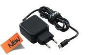 Cargador universal 110-240V Tipo C USB 5V/3A negro 1m.