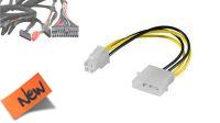 Cable adaptador de alimentación Molex a P4 10cm