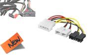 Cable adaptador PSU Molex/4x03P con reducción de velocidad en 2 conectores