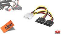 Cable de alimentación 2x Serial ATA 15cm