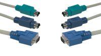 Cable 3 en 1 PS/2 y VGA M/M