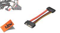 Cable interno extensión SATA + alimentación 22P M/H 15cm