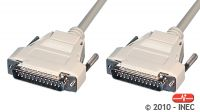 Cable Laplink paralelo DB25 M/M ensamblado