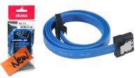 Cable Sata 3 6Gbps Slim con clip de seguridad