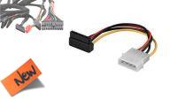 Cable alimentación serial ATA 90º 15cm