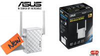 Repetidor Wireless Asus RP-N12 2.4GHz 300Mbps con 2 antenas