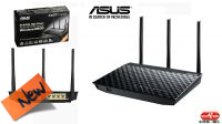 Router AP Wireless ASUS RT-N18U 2.4GHz 600Mbps con 3 antenas USB gigabit