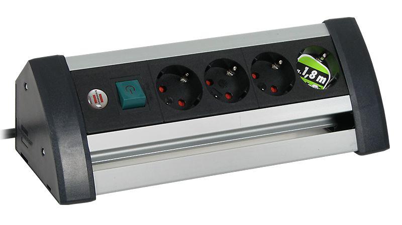 BN 0922 >> Conector CEE7/7 Schuko, hembra: 4