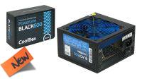 Fuente de alimentación 600W ventilador 120mm negro