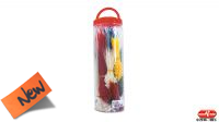 Kit de abrazaderas de vários colores (850u.)