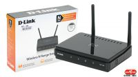 Punto de acceso y repetidor wireless D-Link Range Extender 802.11b/g/n 300 Mbps