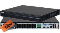 NVR IP 16 canales 4K 2x SATA con 16 canales audio+HDMI+VGA+LAN+2xUSB PTZ IP/PoE