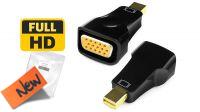 Conversor Mini Displayport V1.1a Macho a VGA Hembra 1080P