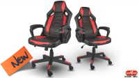 Silla Genesis Nitro 370 Negro/Rojo