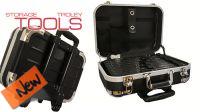 Maletin trolley en ABS y alumínio para herramientas e instrumentos 460x340x170mm