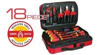 Kit de herramientas para electricista de 18 piezas