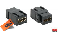 Adaptador HDMI Hembra - Hembra de panel