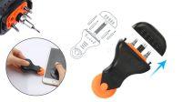 Kit de herramientas y accesorios para reparación de tablets y teléfonos móviles 9 piezas