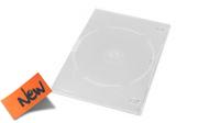 Archivador 1 DVD 7mm Slim transparente