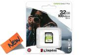 Tarjeta SDHC Kingston 32GB classe 10 SDS/32GB