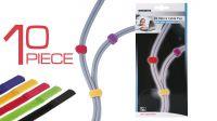 Abrazadera para cables en colores