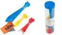 Kit Abrazaderas  150 Piezas En 3 Colores