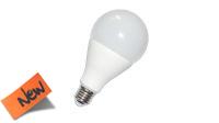 Lámpara Led E27 cerámica A65 15W 6400K 230V