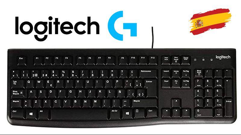 LOG K120-ES >> Idioma del teclado: Español