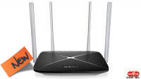 Router wireless Mercusys AC12 4 ant. Dual Band 300+867Mbps