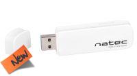 Lector Tarjetas NATEC SCARAB SD/Micro SD USB 3.0 Blanco