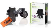 Soporte de automóvil universal para Tablet y Smarhphone negro