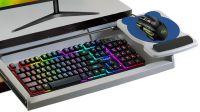 Soportes para monitor y teclado