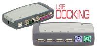 Docking USB 1.1 paralelo, serie, 2xPS/2 y hub 4xUSB
