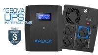 UPS Phasak SIRIUS 1260VA Interactive
