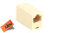 Adaptador pin a pin 1:1 RJ45 Cat.6 UTP