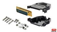 Kit de carcasa + conector para DSub25 y HD 15 en blister