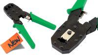 Alicate para crimpar conectores modulares RJ10/11/12/45