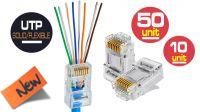 Conector RJ45 Cat. 6 UTP AWG22 a 24 (10u.) FastCrimp