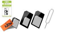 Adaptador SIM Card 4 en 1 con herramienta extractora