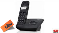 Teléfono inalámbrico Gigaset AL117 negro