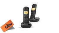 Teléfono inalámbrico Gigaset A270 Duo negro