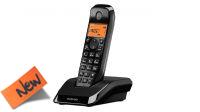 Teléfono inalámbrico Motorola S1201 negro