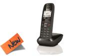 Teléfono inalámbrico Gigaset AS405 LCD negro/gris