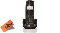 Teléfono inalámbrico Gigadset AS405H Terminal LCD negro y gris