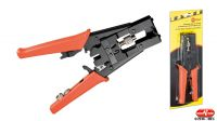 Alicate para crimpar conectores F / BNC / IEC / RCA cable RG 6/59