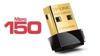 Adaptador USB nano Wireless TP-Link TL-WN725N 2.4GHz 150Mbps