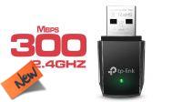 Adaptador USB mini Wireless TP-Link TL-WN823N 2.4GHz 300Mbps
