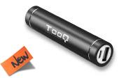 Powerbank USB bateria 2600mAh negro