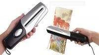 Destructora de papel mini - USB 2.0 - Gris y negro