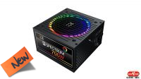 Fuente alimentación SPECTRUM  ATX 700W PPFC 80 Plus ventilador Silent RGB 120 mm.